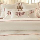Algodão 100% ou de hotel do T/C 50/50/Embroidery fundamento/Home ajustado (WS-2016048)