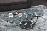 De buitensporige Regelbare Lijst die van het Glas de Vrije Inspectie van de Korting van de Koffietafel vouwen