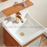 Module de salle de bains en aluminium de vanité de bassin simple classique de type