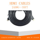 Handels Kabel der Datenkommunikation-HDMI mit Ethernet-Ferrit