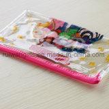 Saco do lápis dos desenhos animados, saco da pena do PVC, saco relativo à promoção dos artigos de papelaria do PVC
