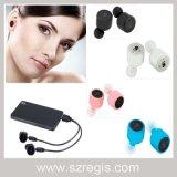 Accessori sani ad alta fedeltà del telefono del trasduttore auricolare dell'in-Orecchio della cuffia avricolare di Bluetooth dell'Gemellare-Orecchio di sport