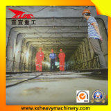 Aléseuse de tunnel de matière d'agrégation