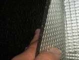 지면 방음 경량 벽돌 알루미늄 호일