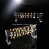 Présentoir acrylique clair de bracelet de bracelets (HY-SU1108)