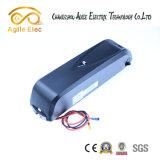de 48V 11.6ah do lítio bateria elétrica da bicicleta da câmara de ar para baixo com carregador