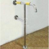Barra di gru a benna d'acciaio Handicapped della toletta Nylon+Stainless della stanza da bagno