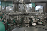 El agua de botella de cristal del animal doméstico bebe la planta de la máquina de rellenar del capsulador del llenador de Rinser