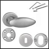 熱い販売のステンレス鋼の固体レバーの安全なドアハンドル