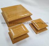 Joyería hecha a mano de la dimensión de una variable del final especial del lustre pila de discos el rectángulo de madera