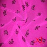 Обыкновенная толком крася шифоновая ткань для одежды тенниски