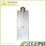 60W Highefficiency Monocrtystalline Licht des Silikon-Sonnenkollektor-LED Steet mit PIR Fühler