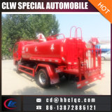 Niedriger Preis Dognfeng 5m3 Emergency Wasser-Tanker-Feuer-Wasser-Becken-LKW