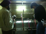 Vacío que metaliza la línea de pintura ULTRAVIOLETA automática del arma de aerosol