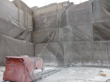 De Zaag van de Draad van de Steengroeve van het graniet