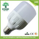 aluminio 15W más bulbos plásticos del LED