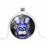 Presente promocional - Cinco noites no colar de Freddy Metal Gem Time Pendant Jewelry Cosplay