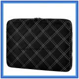 Nuevo bolso de la funda de la computadora portátil del diseño, cartera portable de la computadora portátil, bolso que lleva de costura de la computadora portátil de la red de encargo