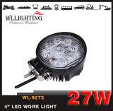 Lumière ronde de travail de 27W 1970lm DEL pour des camions