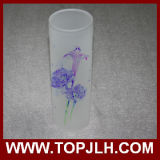 Dekorativer unbelegter Sublimation-Vasen-Glasblumen-Vase