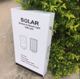 na rua da venda 10W e na luz solares ao ar livre do jardim