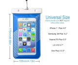 Prix de Factroy de caisse imperméable à l'eau universelle colorée de PVC de qualité de joint de 100% pour l'iPhone 7plus/Samsung S8