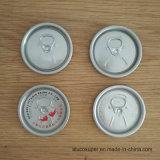 206 couvercles ouverts faciles d'Eoe pour le bidon en aluminium de la bière 500ml