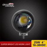 Luz redonda del trabajo de 25watt 4inch LED para la motocicleta