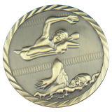 スポーツのための亜鉛合金の金属の円形浮彫り