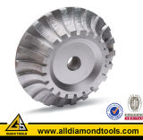 Gushi frittered / Vacuum Brazed / Electroplated Diamond Router Wheel pour le meulage