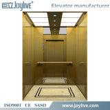 Elevador de interior del pasajero del espejo de oro para la persona 8