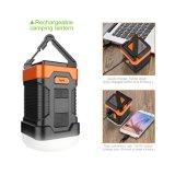 Hot Selling Super Bright Solar Camping Lantern Power Bank pour l'extérieur