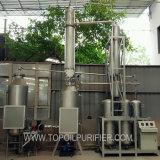Olio per motori usato olio residuo della gomma dell'olio lubrificante che ricicla macchina