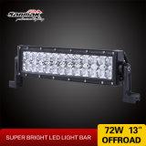 13inch 72Wによって曲げられる軽い二重列のクリー族LEDのライトバー