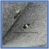 カスタマイズされたウールのフェルトのギフトの小さい記憶のハンドバッグ、ボタンが付いているシンプルな設計の昇進のエンベロプの形袋