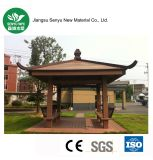 Pabellón al aire libre material del estilo chino de WPC
