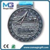 熱い販売は記念品の旧式な銀メダルをカスタマイズした