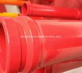 Bomba concreta endurecida de la bomba concreta del fabricante del OEM que reduce el tubo para Putzmeister