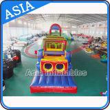 子供のための巨大で膨脹可能な障害物コース、膨脹可能な浮遊障害