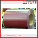 La couleur enduite d'une première couche de peinture a enduit la bobine Q235 en acier pour des matériaux de construction