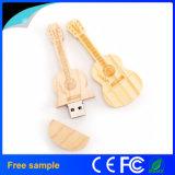USB de madeira de venda quente Pendrive da guitarra