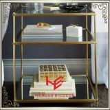 Tableau moderne de côté de Tableau de thé de Tableau de console de Tableau de meubles de Tableau de la table basse (RS161303) d'acier inoxydable de meubles de maison de meubles de meubles faisants le coin d'hôtel