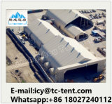 飛行機のハンガーの工場価格のための高品質の広く大きいカーブの屋外のテント