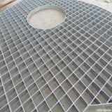 Barra de acero del enchufe imbatible del precio que ralla para las plataformas y el foso