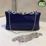 A embreagem a mais atrasada das mulheres do Rhinestone elegante italiano do saco de noite da senhora Embreagem franze Eb773