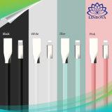 сплава цинка лапши освещения 8pin 1m 3D 2.1A кабель данным по кабеля USB плоского быстрый поручая