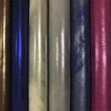 Cuir de chaussures artificiel de PVC d'unité centrale de Softable de qualité (E6084)