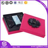 Kundenspezifischer Papierverpackengeschenk-Kasten mit Farbband