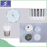 Ampoule ronde plate de la cage DEL avec l'éclairage industriel de point culminant