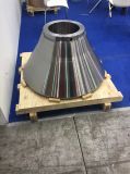 Peças personalizadas do forjamento do metal com tratamento térmico e feitas à máquina